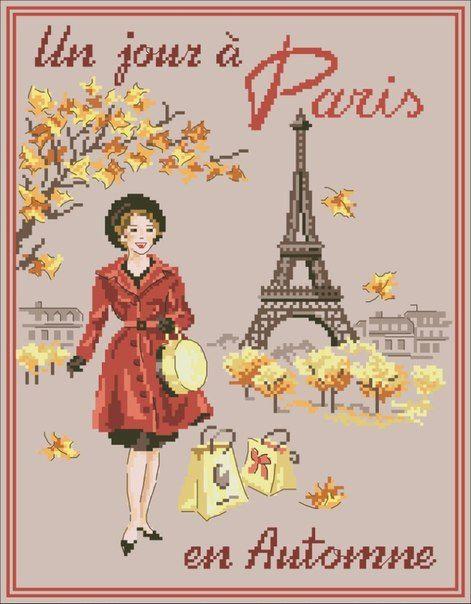 un jour a Paris en autumne