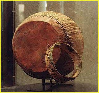 Ancient Egyptian Drum and Tambourine
