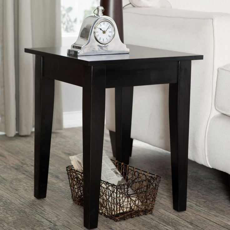 Turner End Table - Black - WSN01-E-BLACK