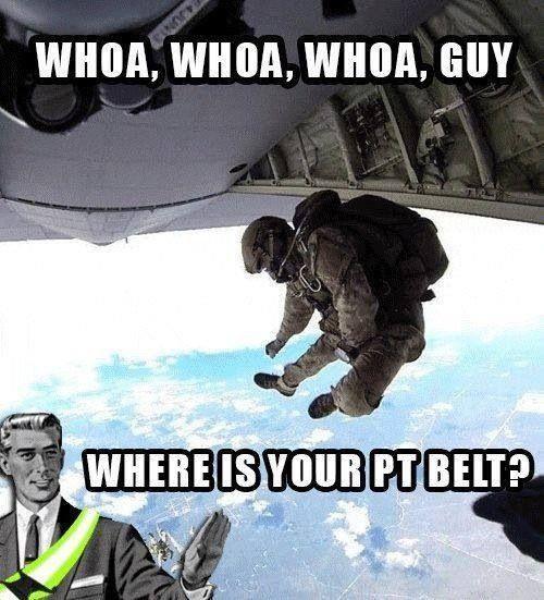 Pt belt, military humor | I am a US soldier | Pinterest ...