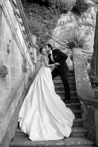 British designer Emilia Wickstead lets us inside her Tuscan nuptials