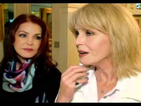 """{*Joanna Lumley & Priscilla Presley """"Elvis And Me"""" At Graceland, Documentary 2015, this Is beautiful gives me Goosebumps & tears*}"""