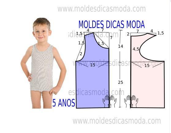 Faça a analise de forma detalhada do desenhe do molde decamisola de criança. Esta camisola é simples, veste de forma descontraída eelegante.