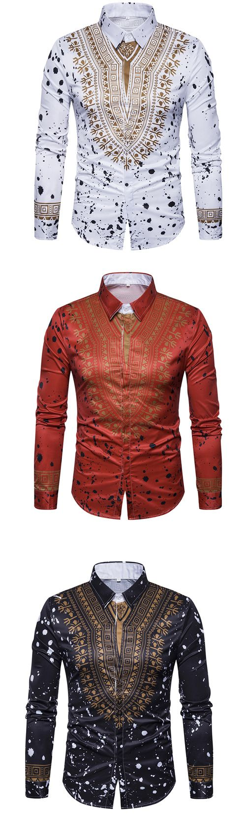 Men's Casual/Daily Street chic Shirt