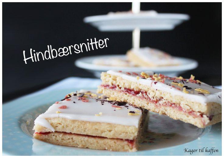 hindbærsnitter from the Kager til Kaffen blog (recipe in Danish)