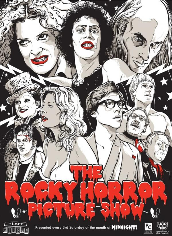 attended a viewing of The Rocky Horror Picture Show!!!  Never seen it...always wanted to!