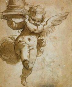 Esquisse ange