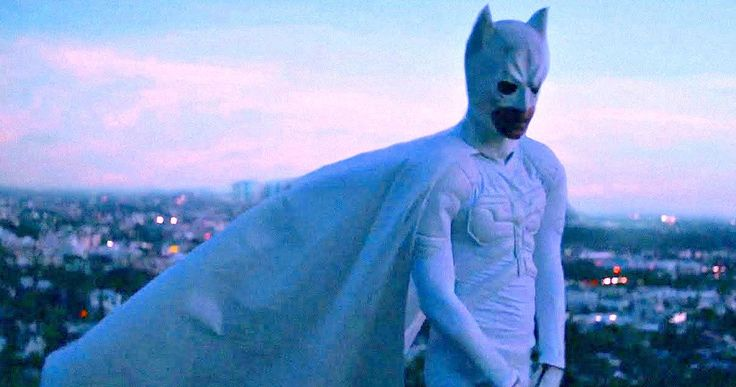 Jaden Smith Made a Brilliantly Awful Batman Music Video -- Jaden Smith pulls on a white Dark Knight armor to live out his superhero fantasies in a hilariously bad music video simply called Batman. -- http://movieweb.com/batman-music-video-jaden-smith/