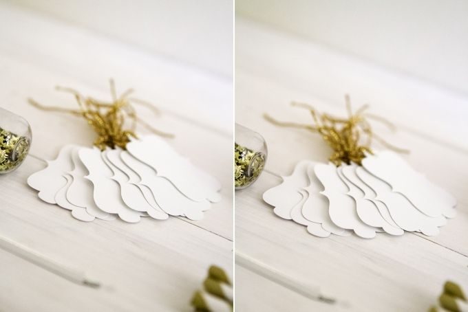 Elegant shaped cut-out tags {10} by Match Set Love
