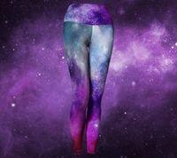 Constellation Leggings - Boho Yoga Leggings - Universe Leggings - Mystic Clothing - Psychedelic Leggings - Hippie Clothes - Womens Yoga