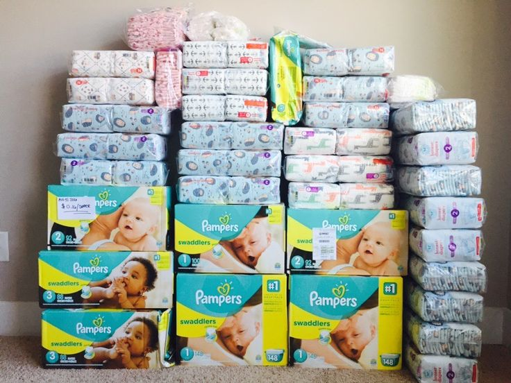 Diaper Stockpiling!! This post explains everything you need to know about saving tons of money and stock piling your diapers! (Pampers & the Honest Company are my favorites!!)