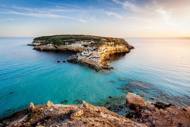 Кроличий остров. Лампедуза. Сицилия. Италия. Italia