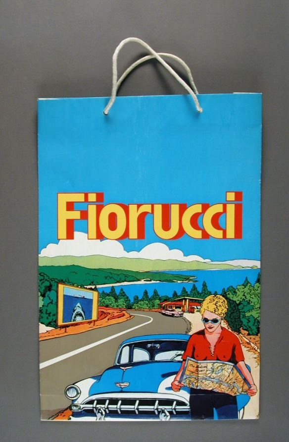 I shopped at Fiorucci. Image/Date Uncredited.