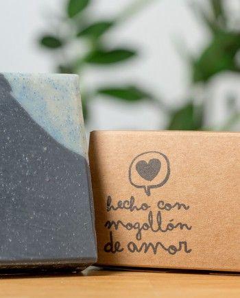 Jabon de carbon y karite