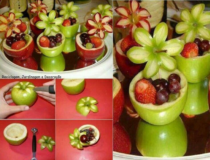 Creative way to serve fruit