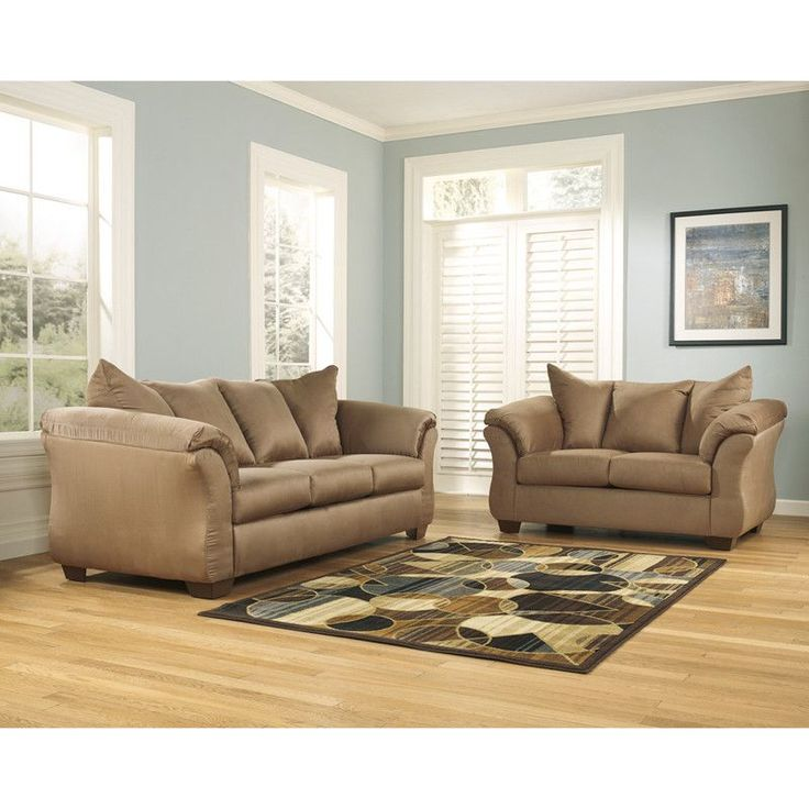 Buy Signature Design By Ashley Darcy Living Room Set In Mocha Fabric At  Harvey U0026 Haley For Only 1,379.05 Part 71