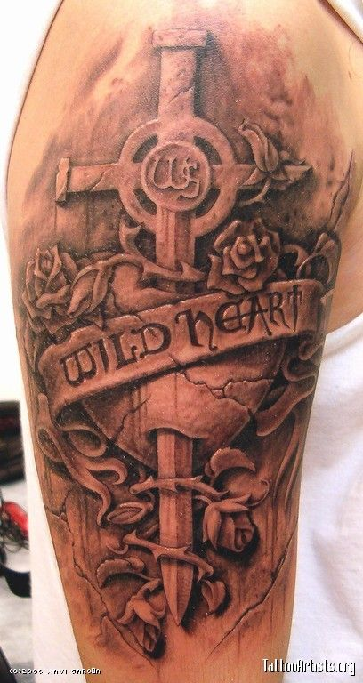 Wild heart tattoo heavy metal rock emo punk music clothes for Wild at heart tattoo