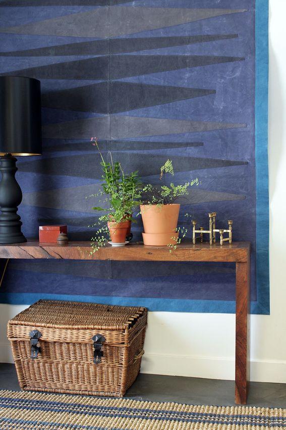 Roundup: DIY Large Canvas Drop Cloth Wall Art » Curbly | DIY Design & Decor