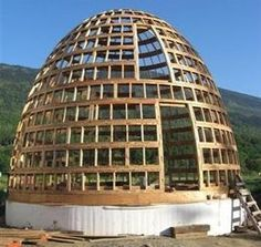 Multiple dome construction methods