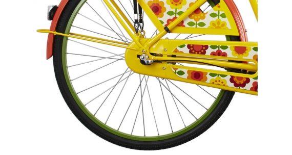 Electra Amsterdam Fashion 3i - Vélo hollandais Femme - Ladies jaune/Multicolore