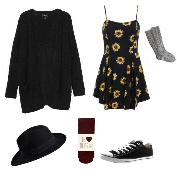 Violet Harmon by falloncorkery on Polyvore featuring polyvore, fashion, style, Monki, Oasis, Converse and Pieces
