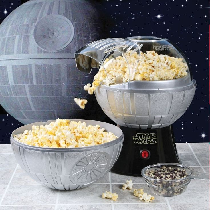 It's not secret that I love Disney, Marvel, and Star Wars themed appliances, so my excitement for this goodie should come as no surprise. Seriously a Death Star Popcorn Maker, how cool is this? Blowing up tasty corn kernels, it a much better function than blowing up planets. Witness the firepower of this fully ARMED and OPERATIONAL …