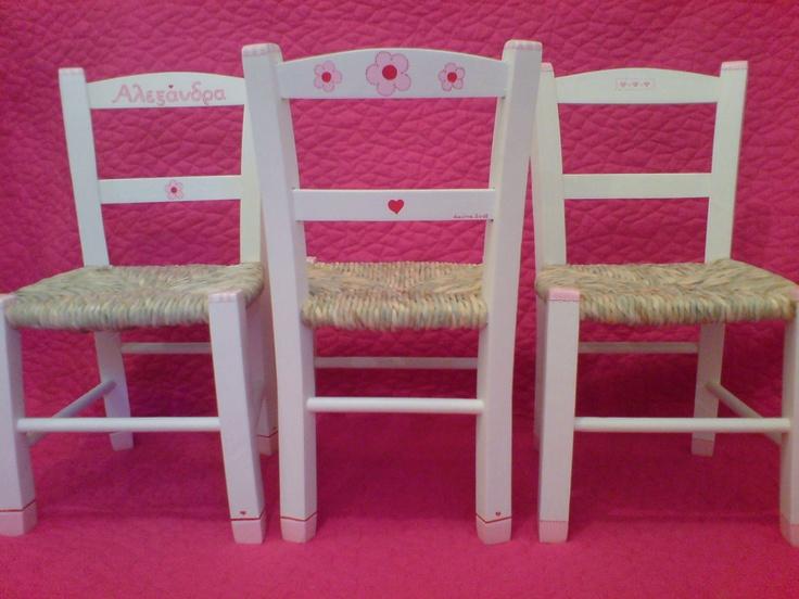 girls' chairs :)