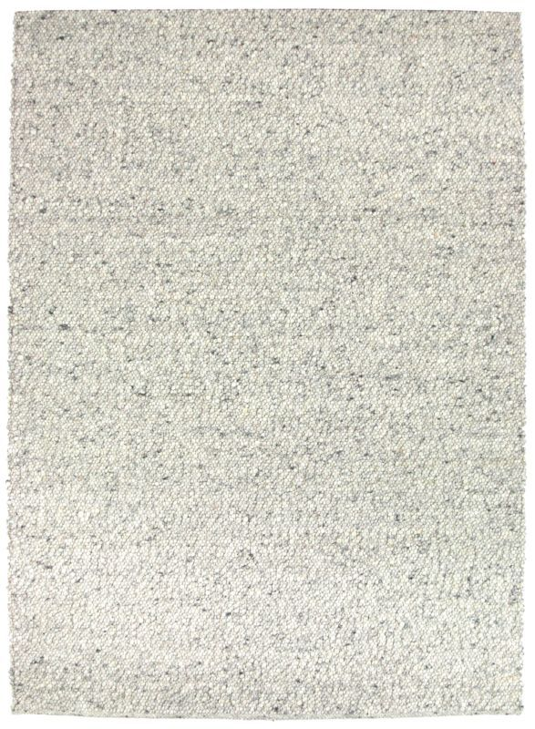 Riverstone teppe Grå 160x230 Håndvevd ullfiltHåndvevd ull Grå