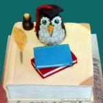 Teacher Books Cake