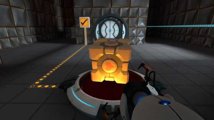 Image result for portal cube gameplay