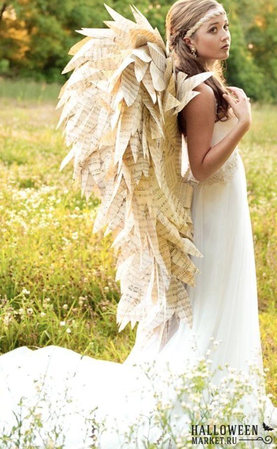 #angel #costume #halloweenmarket #halloween  #ангел #костюм Костюм ангела на хэллоуин (фото)