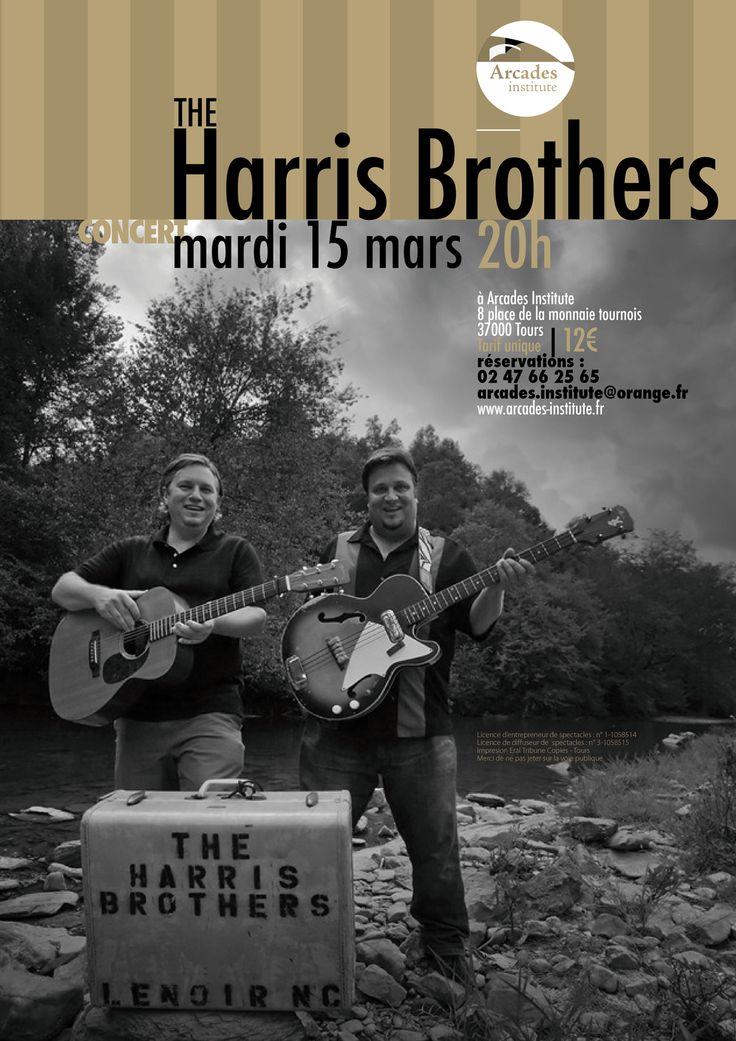 """""""THE HARRIS BROTHERS """" sont frères, Ryan et Reggie sont nés Caroline du Nord. Ils ont commencé à jouer et à chanter dès leur petite enfance et ils sont issus d'une famille de musiciens qui se retrouvent régulièrement pour jouer ensemble. « THE HARRIS..."""