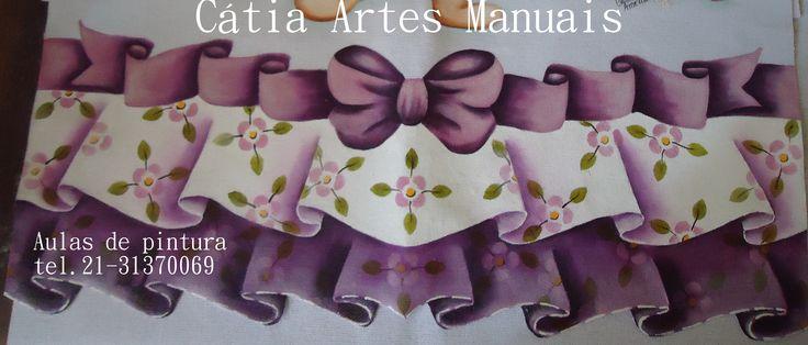 Venda de projetos e aulas de pintura Tel. 21-31370069 ou e-mail catiaartesmanuais@gmail.com