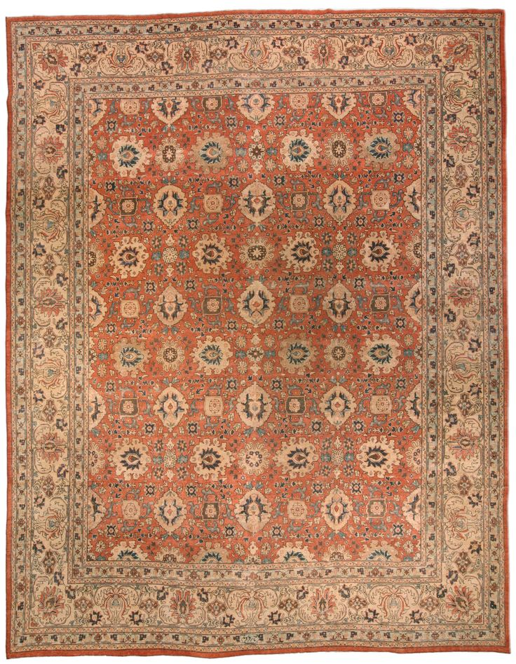 Persian rugs: Persian rug (antique) rug in red color, oriental rug, oriental pattern for modern, elegant interior decor, rug in living room #rug #persianrug