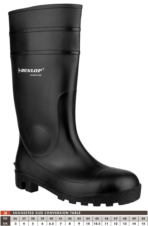 Dunlop Protomastor Full Safety 142PP Safety Wellingtons: Amazon.co.uk: Clothing