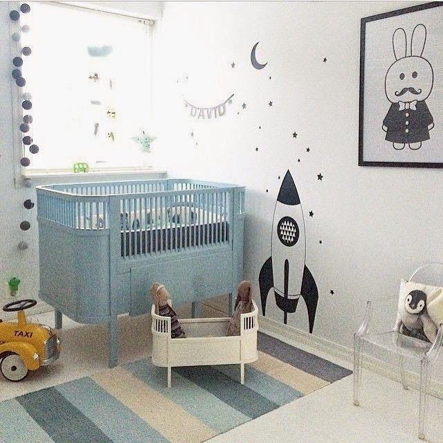 Babystuf.nl - The Boo and the boy - babykamer inspiratie voor een jongetje.