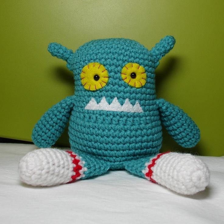 Amigurumi Monsters : 17 migliori immagini su amigurumi monsters & robots su ...