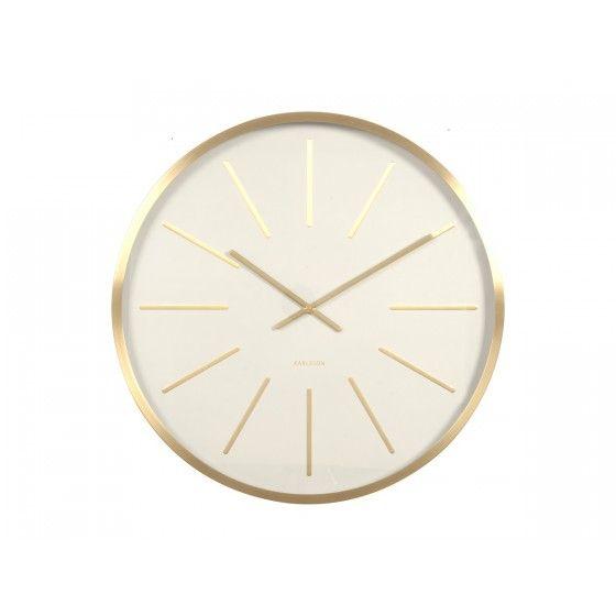 Horloge Karlsson Maxiemus Blanche
