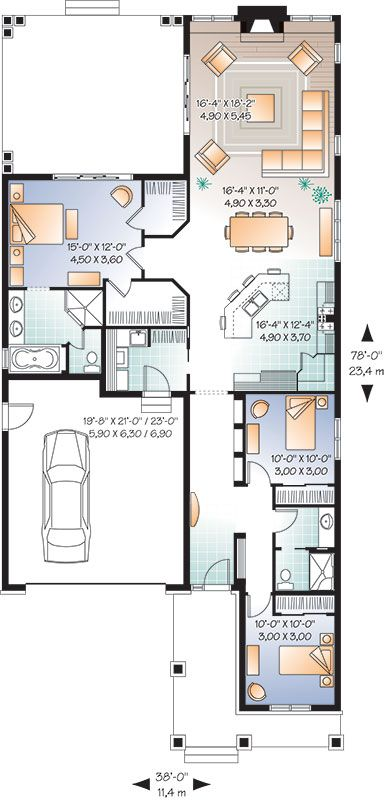 25 Best Ideas About Retirement House Plans On Pinterest Small Home Plans Cottage House Plans And Floor Plans For Houses
