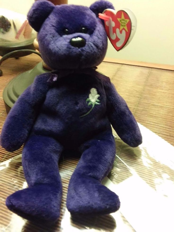 "TY Princess Diana ""RARE"" Collectible Beanie Baby"