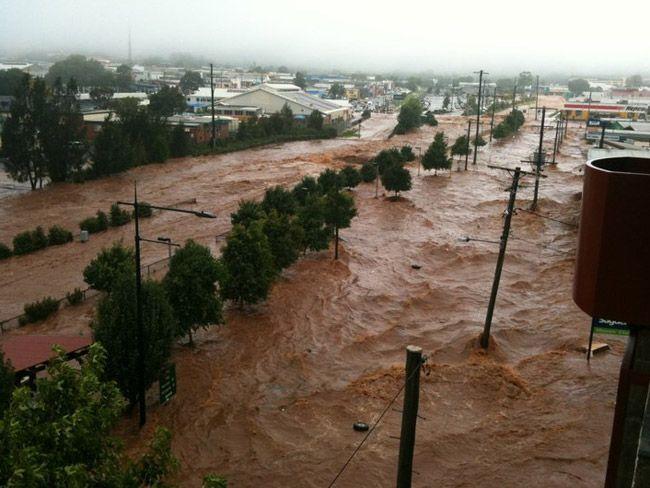 Floods In Toowoomba