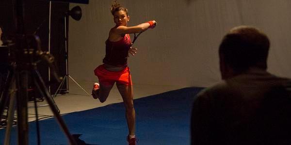 FOTO Simona Halep a făcut o ședință foto pentru Adidas