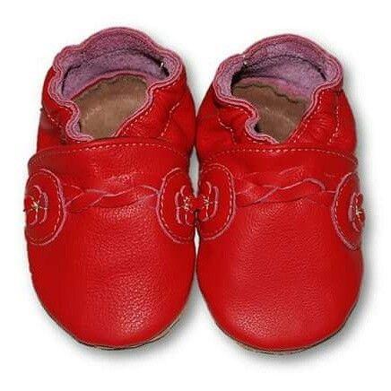 ekoTuptusie Plecione Czerwień Soft Sole Shoes Folk Red Les chaussures pour enfants Krabbelshuhe https://www.fiorino.eu/
