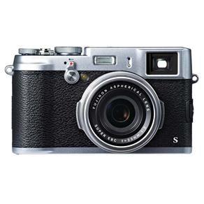 "Câmera Digital Fujifilm X100S Prata com 16MP, LCD 2.8"", Foto Panorâmica e Vídeo Full HD"