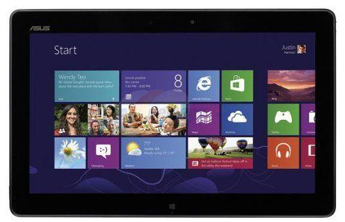 """Windows 8, 11.6 inches, 1366x768 Intel Atom Z2760 1.8 GHz 2 GB RAM Memory, 64 GB eMMC Flash Storage Memory 802_11_BGN wireless, Bluetooth 4.0 Wacom digitizer Asus VivoTab TF810C-C1-GR 64 GB Net-tablet PC - 11.6"""" - Intel Atom Z2760 1.80 GHz , $789.00"""