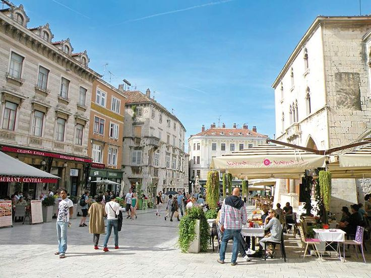 Split Palace Streets in Croatia