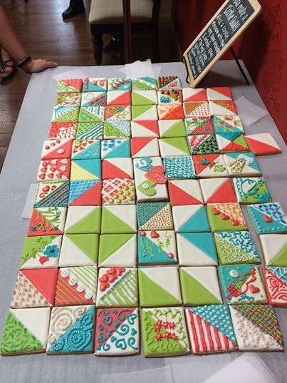 Quilting Cake Decorating : 1000+ ideas about Quilted Cake on Pinterest Fondant cake decorations, Fondant tips and Fondant