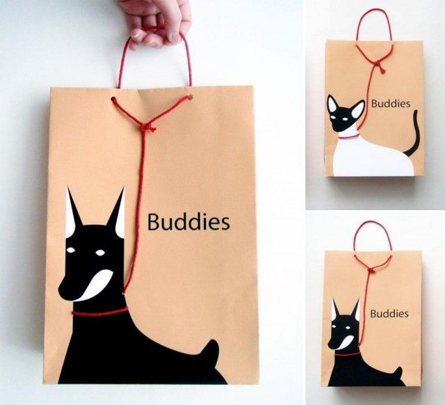 Let's be buddies bag packaging celebrating National Dog Day with some favs PD