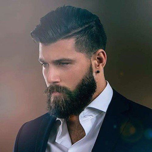 Mens-Hairstyles-with-Beards. #MensFashion #Grooming