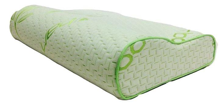 ORIGINAL- Luxury Bamboo Memory Foam Contour Pillow Orthopedic Neck Head Support